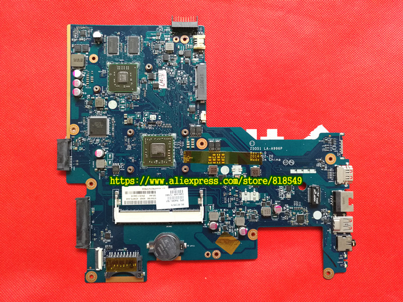 764269-501 Main board Fit For HP 15-G Notebook PC Motherboard System board 764269-001 ZSO51 LA-A996P A8-6410 Discrete Graphics