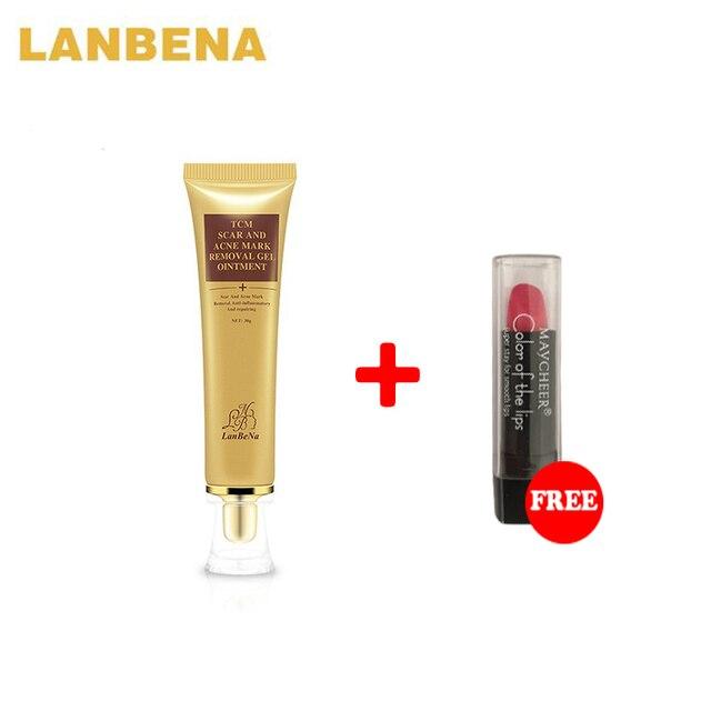 LANBENA TCM cicatriz y acné MAEK eliminación GEL ungüento 30g y marca reparación antiinflamatoria
