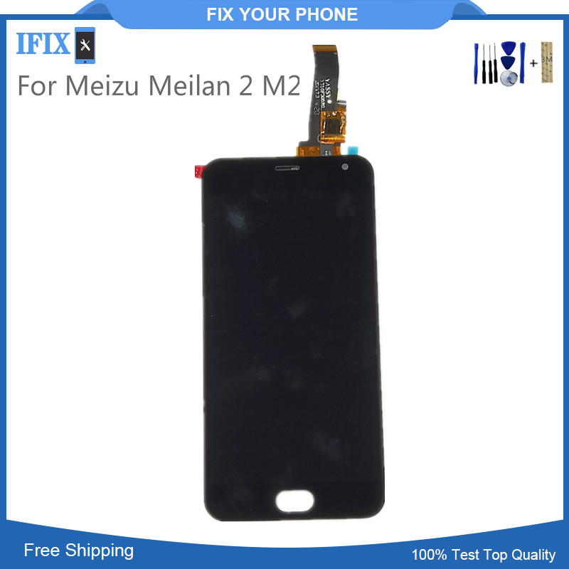 Cellphones & Telecommunications Persevering 5 Inches Lcd For Meizu Meilan 2 M2 Lcd Display Digitizer With Touch Screen Glass Panel Assembly High Quality Full Tested Beneficial To Essential Medulla