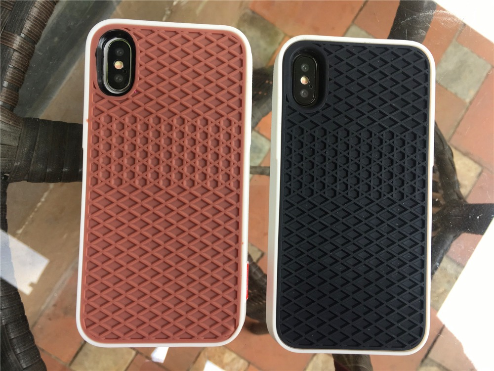 uk availability 07f6c 7b6db US $3.93 31% OFF|Vans Sport Phone case For iPhone X Case iPhone 5 5s SE 6  6s 7 8 Plus Cover 3D Silicon Cover Fashion Couple Full Protect Cell Bag-in  ...