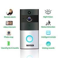 DAYTECH Wireless WiFi Video Doorbell HD Camera Two Way Audio Motion Detection IR Night Vision Waterproof
