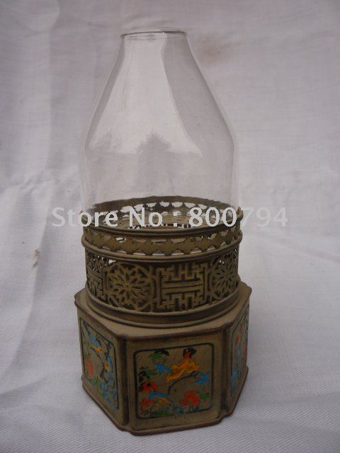 Very rare old Qing Dynasty  Smoke lamp,brass&Cloisonne, with carving, free shippingVery rare old Qing Dynasty  Smoke lamp,brass&Cloisonne, with carving, free shipping