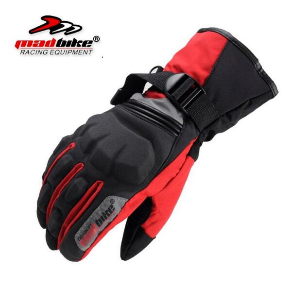 где купить Madbike gloves men full finger motorcycle gloves winter luva waterproof motorbike luvas para ciclismo moto black Cycling gloves по лучшей цене