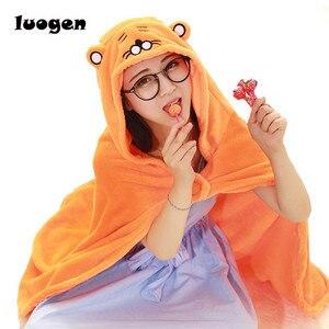 """Image 1 - 63"""" Anime Himouto! Umaru chan Cloak Umaru chan Doma Umaru Cosplay Costume Cute Flannels Cloaks Blanket Soft Cape Hoodie"""