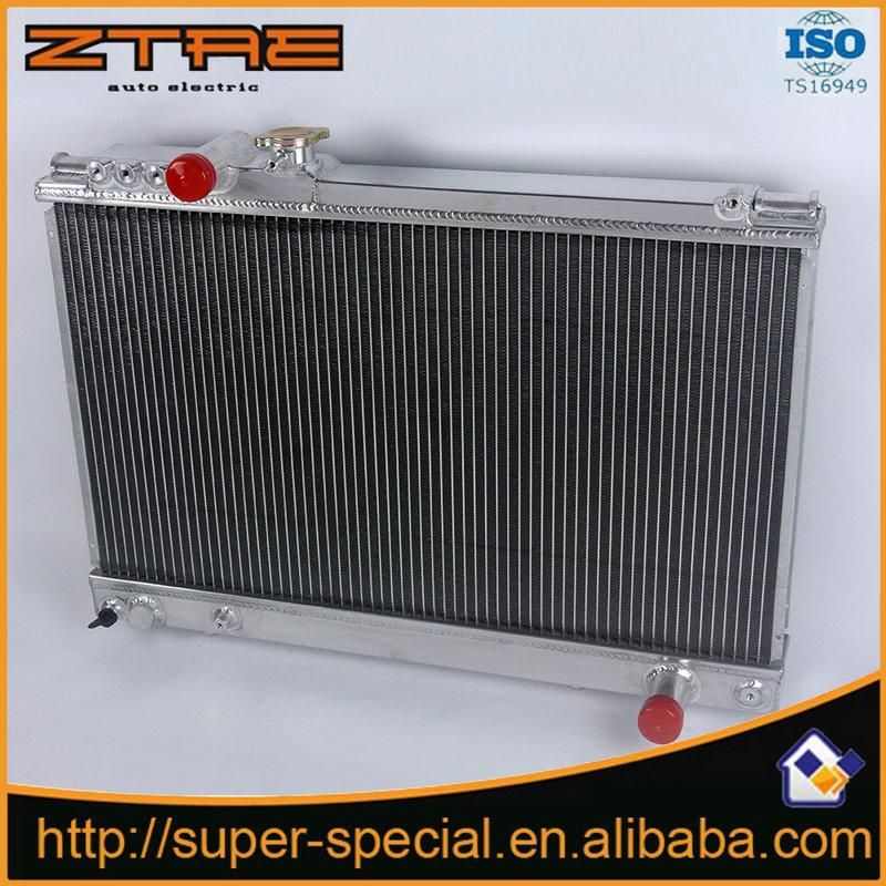 High Quality NEW RACING Aluminum car Radiator For TOYOTA  SUPRA JZA70 86-92 Replacement Part auto radiator