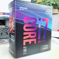 Intel PC computer Core 8 series Processor I7 8700K I7 8700K Boxed processor CPU LGA 1151 land FC LGA 14 Six Core cpu