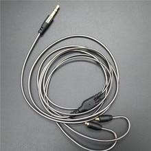 DIY ie800 אוזניות כבל יחיד קריסטל נחושת חוטים, 14 core X4 גבוהה סוף אוזניות כבל mmcx