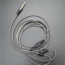 Diy ie800ヘッドフォンケーブル単結晶銅線、14コアX4ハイエンドイヤホンケーブルmmcx