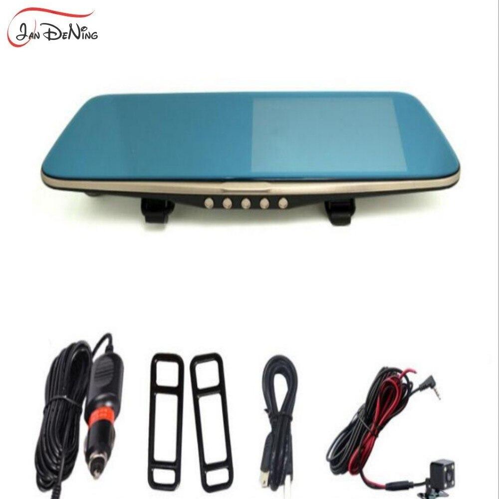 Vehicle-Box Car-Camera LDWS Mirror Screen-Starlight Dual-Lens Night-Vision WDR HDR 5inch