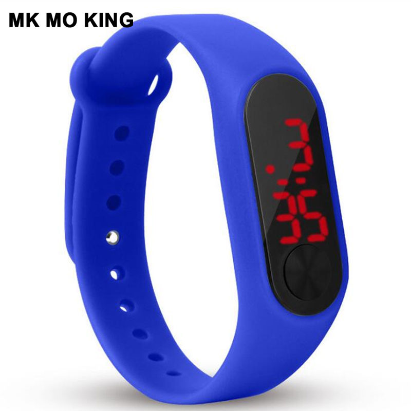 Fashion Digital LED Candy Silicone Men's And Women's Sports Watches Casual Girls Bracelet Clock Zegarek Damski Relogio Feminino