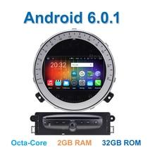 8 core 2 ГБ RAM Android 6.0.1 Dvd-плеер Автомобиля Стерео для BMW Mini Cooper 2011 2012 2013 с Радио WiFi BT GPS