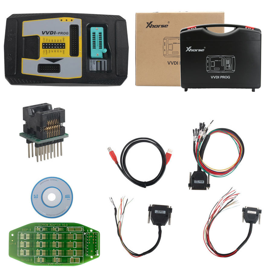 Image 5 - Original Xhorse VVDI PROG Programmer V4.8.8 VVDIPROG Auto Diangnostic tool Program For BMW Support Update and Multi languages-in Auto Key Programmers from Automobiles & Motorcycles on