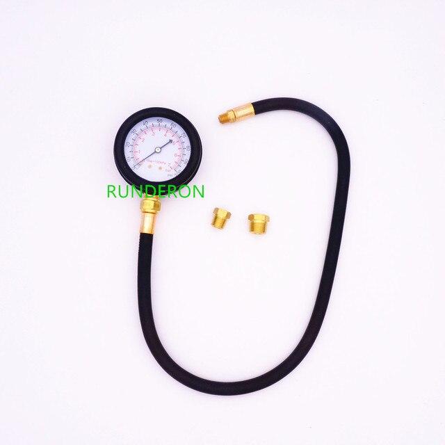 Automotive Engine Oil Pressure Gauge Detection Diagnostic Tools 0 7 bar / 0 100 PSI