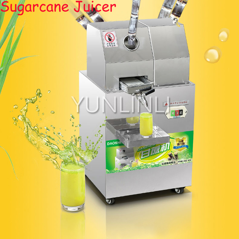 Electric Sugarcane Juicer Stainless Steel Sugarcane Juice Extractor Cane-Juice Squeezer Cane Crusher Sugar Juicer все цены