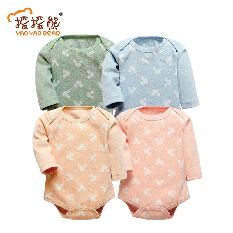 Nouveau-nés bébé garçon filles vêtements de coton combinaisons de bande dessinée