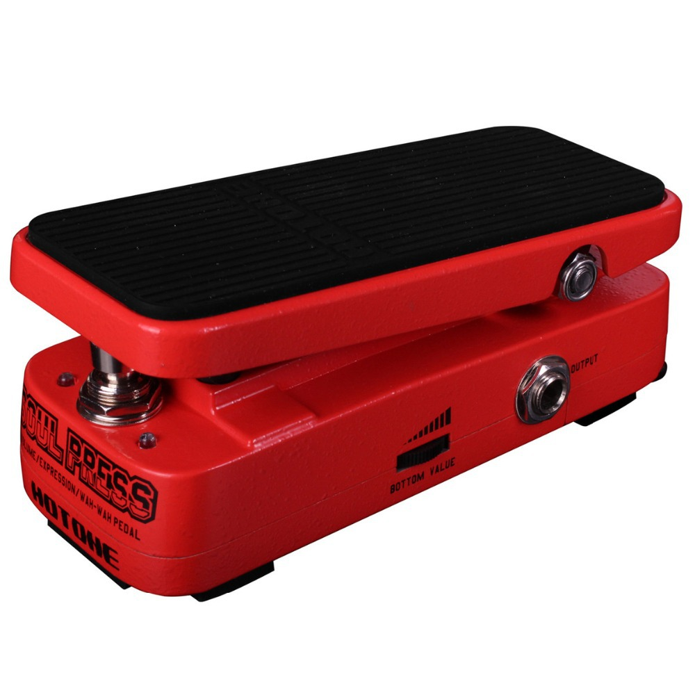 Hotone Soul Press Volume Expression Wah Effect Pedal 3 in 1 Pedal CRY BABY SOUND Electric Guitar Effects inhuman volume 3