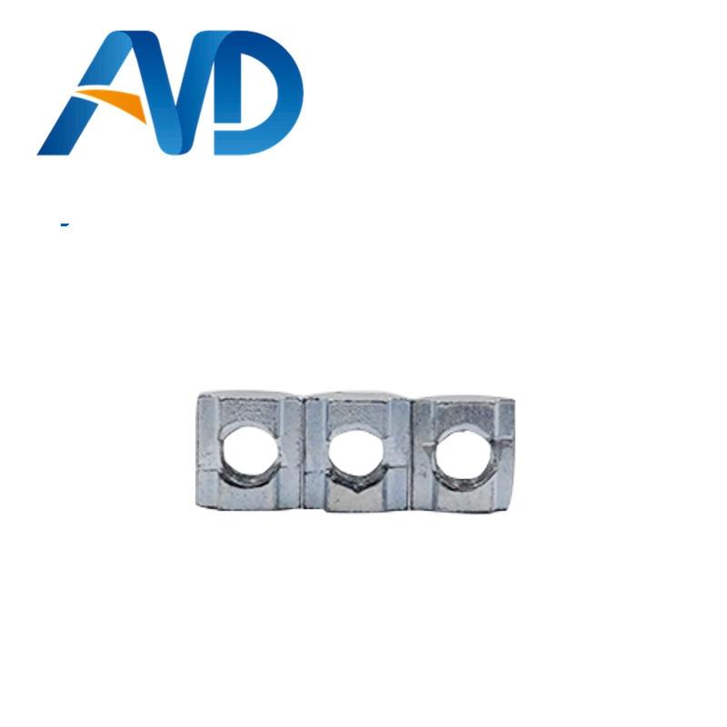 50pcs T Sliding Nut Block Square nuts M6 for 2020 Aluminum Profile Slot 6 Aluminum connector Accessor