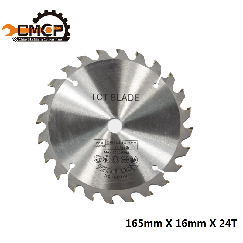 Diameter 165mm 24T hole 20mm TCT Circular Saw Blade for Cut Wood Plastic Acrylic TCT Woodworking Saw BladeDiameter 165mm 24T hole 20mm TCT Circular Saw Blade for Cut Wood Plastic Acrylic TCT Woodworking Saw Blade