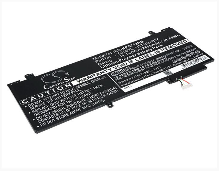 Cameron Sino 2800 mAh bateria para HP