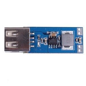 Image 3 - כוח בנק Boost ממיר מטען מודול DC DC 2.5 V 5.5 V כדי 5V 2A שלב עד לוח USB רכב נייד