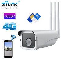 3G 4G SIM Card IP WiFi Camera 1080P 960P Outdoor Security HD Wireless CCTV IR Alarm Surveillance Camera For Android IOS CamHi
