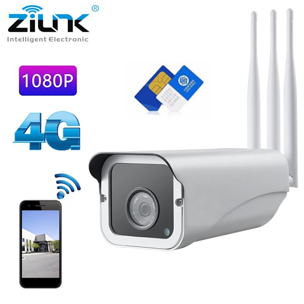 3g 4g SIM Carte IP WiFi Caméra 1080 p 960 p Sécurité Extérieure HD Sans Fil CCTV IR Alarme surveillance Caméra Pour Android IOS CamHi