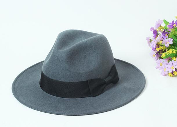 10pcs/lot Classic Formal Black Pure Wool <font><b>Fedoras</b></font> Hats <font><b>for</b></font> Men Spring Ladies Beige Woolen <font><b>Fedora</b></font> Caps Autumn Mens Hat Wholesale