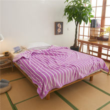 Thicken bedspread blanket 200x230cm High Density Super Soft Flannel Blanket to on for the sofa/Bed/Car Portable Plaids(China)