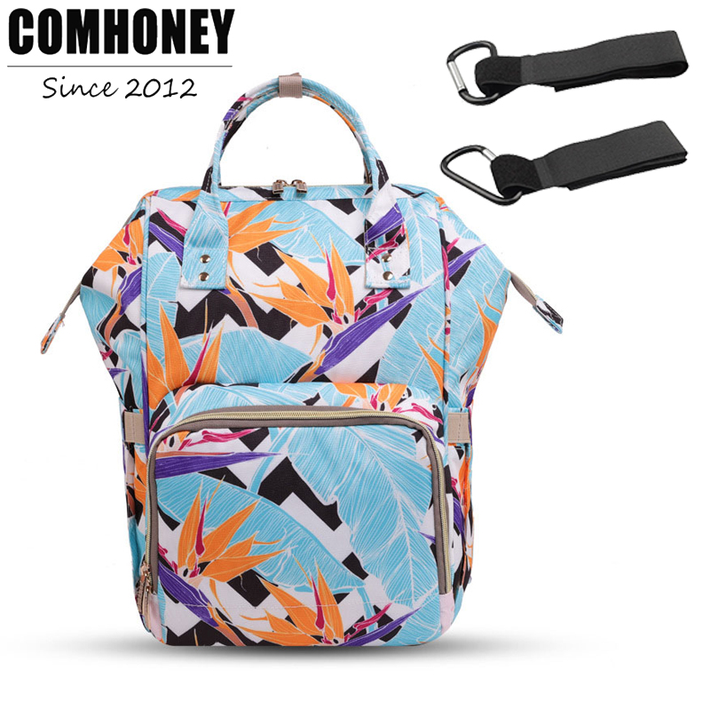 Diaper Bags Backpack Baby Care Bag for Mom Nappy Changing Bag Organizer Fashion Mummy Maternity Bag Travel Gifts Stroller Hook baby mom changing diaper tote wet bag for stroller mummy maternity travel nappy bag backpack messenger bags bolsa maternidad page 7
