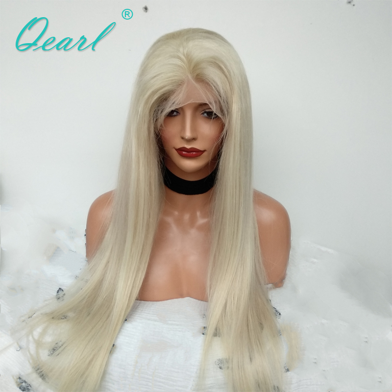 Full Lace Human Hair Wigs Transparent Lace Straight Lace