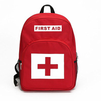 Empty Bag First Aid Backpack Outdoor Adventure Travel Climbing Kit Large Capacity Rescue Bag for Emergency supplies