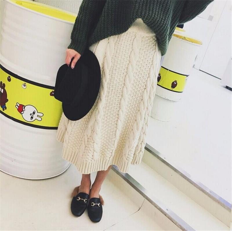 winter thick skirt 08