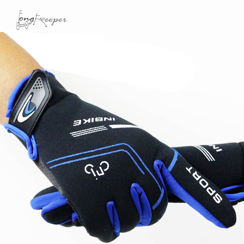 LongKeeper Cycling Gloves Full Finger Mens Sports Breathable Anti-Slip Mountain Bike Bicycle Gloves Guantes Ciclismo longkeeper cycling gloves full finger mens sports breathable anti slip mountain bike bicycle gloves guantes ciclismo