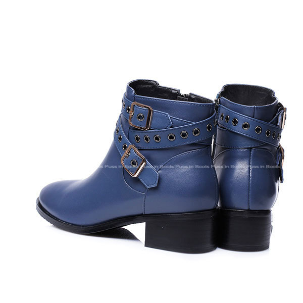 blue ankle boots for coltford boots
