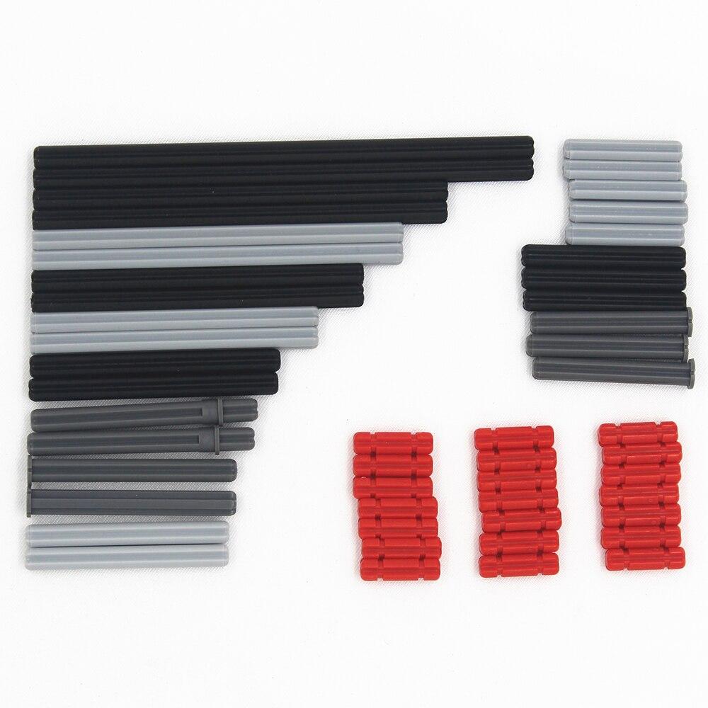 Hot Sales 50pcs Model Building Blocks Toy Boy Parts Technic Building Bricks Children Toys CROSS AXLE Compatible With Lego