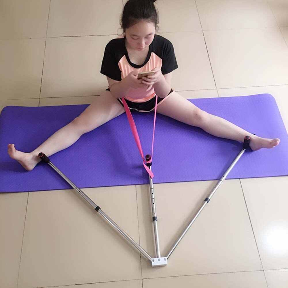 ילד מעשי רגל הארכת מכונה אימוני גמישות פיצול רגליים ברצועות אלונקה עבור ריקוד טאקוונדו Sanda יוגה ftiness