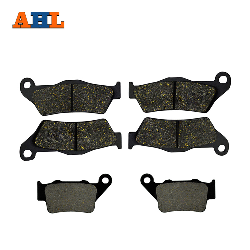 AHL Motorcycle Front And Rear Brake Pads For YAMAHA XT660Z Tenere XT660 Z XT 660Z Non ABS 2008-2016 Brake Disc Pad motorcycle front and rear brake pads for yamaha xvz 1300 xvz1300 royal star tour deluxe 2005 2007 brake disc pad