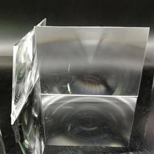 183*110 мм фокусное расстояние 185/120 прямоугольная оптическая pmma пластиковая линза Френеля для профессионального 7,0 дюйма diy проектор Комплект линз