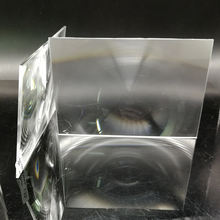 183*110 мм фокусный 185/120 прямоугольный оптический ПММА пластиковый