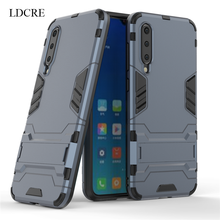 For Xiaomi Mi 9 SE Case Luxury Robot Hard Back Fundas Phone Cover