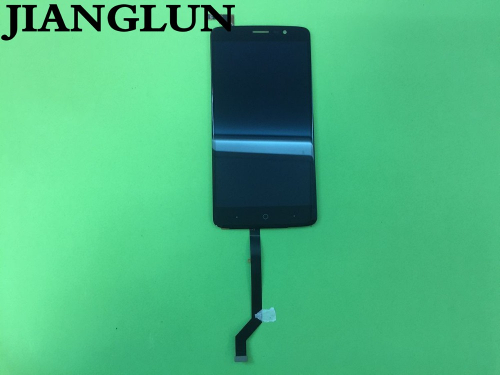 JIANGLUN Display Touch Digitizer Assembly For ZTE Max Blue XL 3 N9560 Black ColorJIANGLUN Display Touch Digitizer Assembly For ZTE Max Blue XL 3 N9560 Black Color