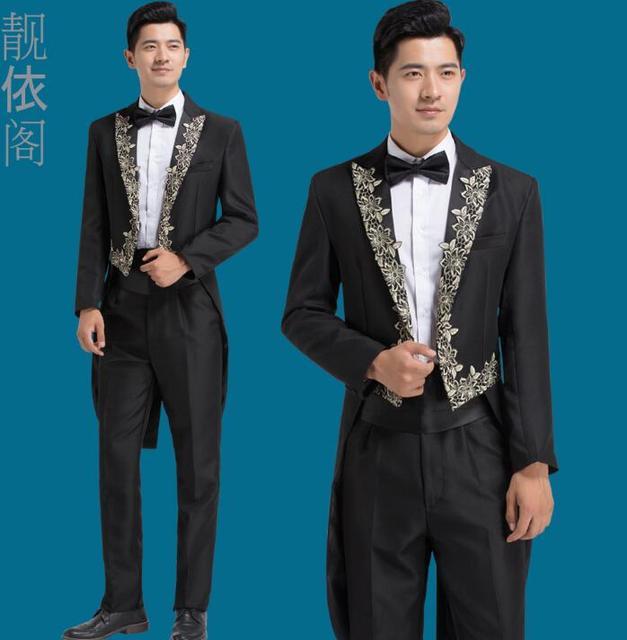 Chorus mariage groom wedding suits for men blazer boys prom tuxedo ...