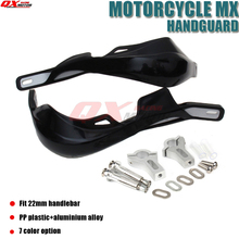 Dirt Bike Motorcross Motorcycle Handlebar Guard handguards Hand Brush Guards Fit 7/8 22mm Or 1-1/8 28mm Fat Bar
