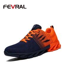 FEVRAL 2020 מכירה לוהטת ארבע עונות קלאסי נוח גברים נעלי גברים שרוכים נעלי ספורט גברים לנשימה סניקרס זול נעליים