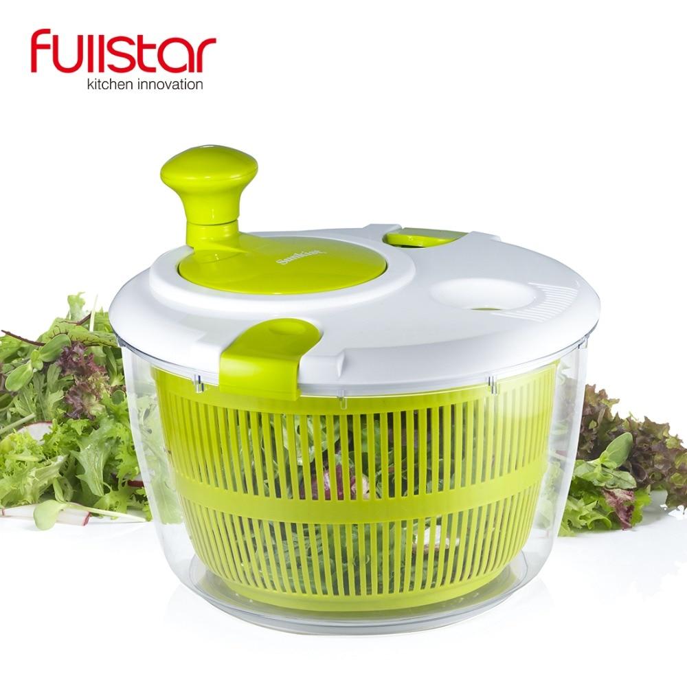 Fullstar салатные инструменты чаша Джамбо салат Спиннер кухонные инструменты кухонные аксессуары Сушилка для овощей и миксер для фруктов гаджеты|salad bowl|bowl kitchenbowl salad | АлиЭкспресс