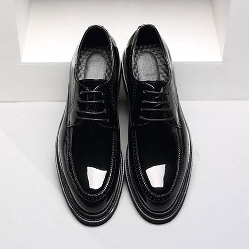 Marca De Da Msw8118128 Sapatas Homens Clássico Elegante Sapatos Desenhador Vestido Luxo Homem Dos Couro Do xBdqPvwd
