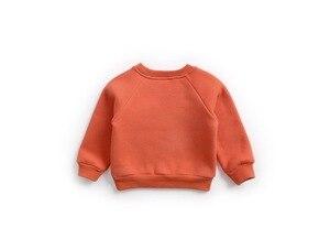 Image 3 - ילד תינוק חולצות תינוק בנות נים סתיו אביב חורף בעלי החיים צמר ארוך שרוול חולצות ילדים בגדי תינוקות חולצה