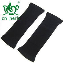 CN Herb  Slimming Wraps Hot Arms Compression Tone Shaper Wrap Sleeve, Black