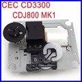 Cec cd3300 optical pick-up mecanismo de substituição original laser optical lens lasereinheit para pioneer cdj-800 cdj 800 mk1 cd player