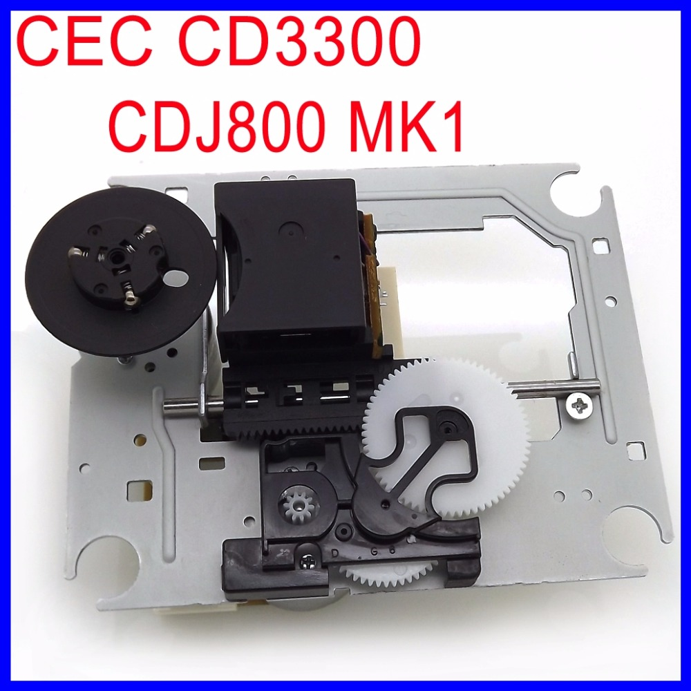 Original CEC CD3300 Optical Pick-up Mechanism Replacement CDJ 800 MK1 Laser Lens Lasereinheit For Pioneer CDJ-800 CD player owx 8060 owx8060 laser lens lasereinheit optical pick ups bloc optique cd replacement for cdj 350 cdj 850